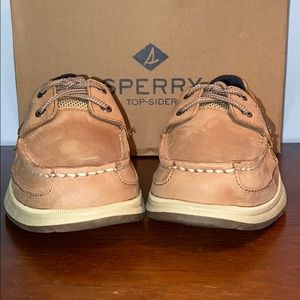 """BOYS SPERRY """"LANYARD"""" BOAT SHOES"""